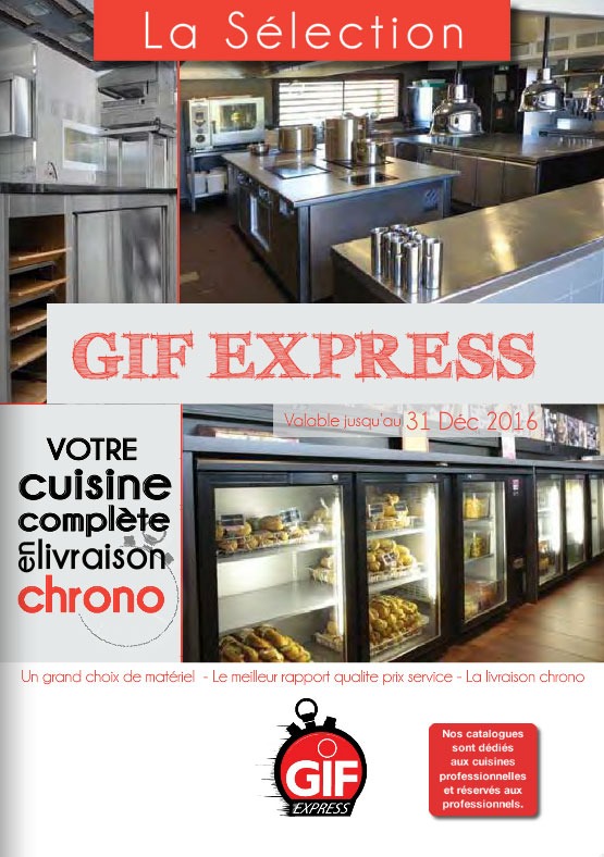 Couverture catalogue gif express