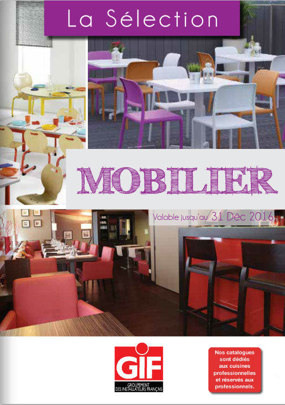 Couverture catalogue Mobilier